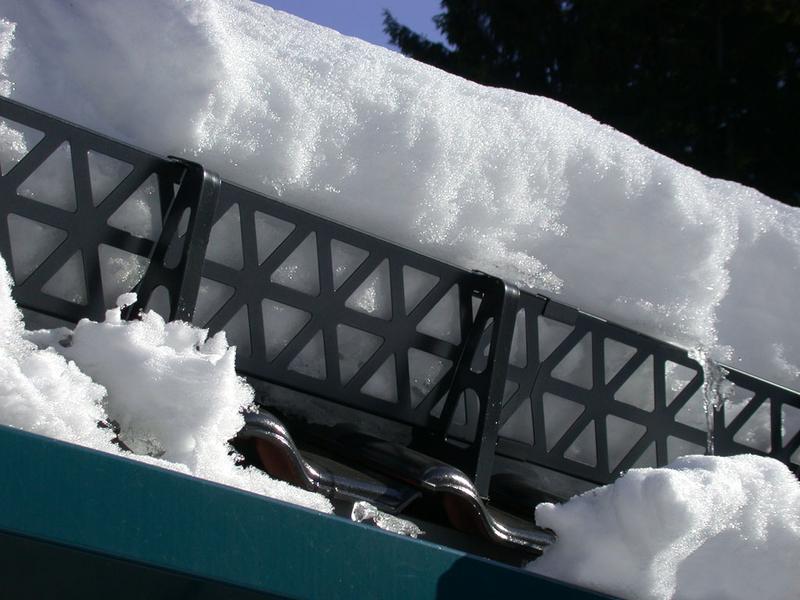 Кровельные ограждения снегозадержания